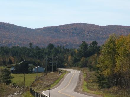 road through autumn hills 1