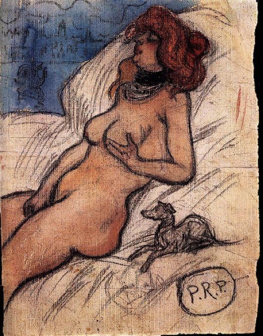 Picasso, Femme qui rêve a Venice