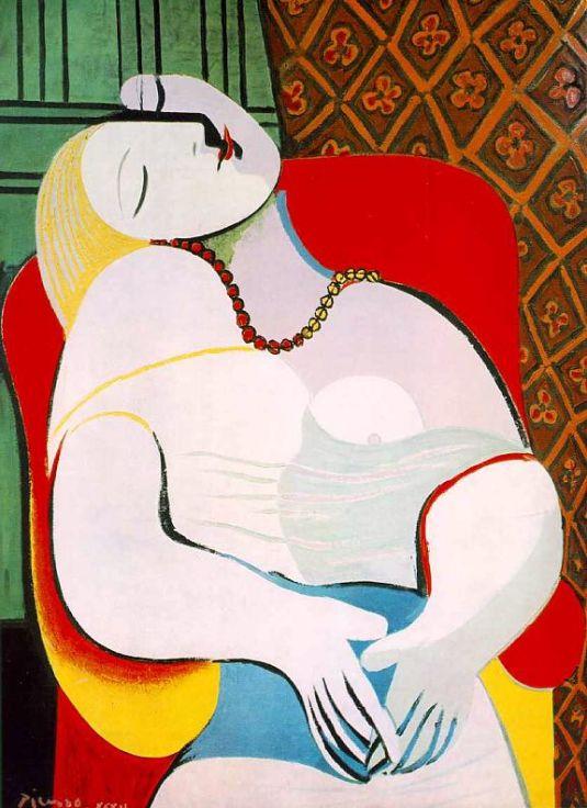 Picasso, Le Reve