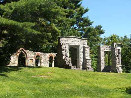 I believe these are called the Abbey ruins