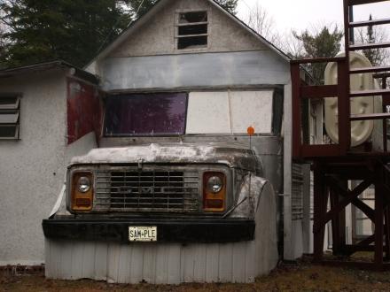 half house, half truck