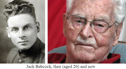 Jack Babcock, then, now