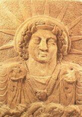 syrian sun god