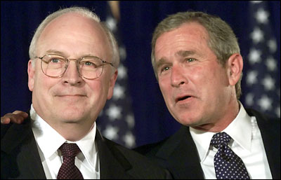 Cheney, Bush