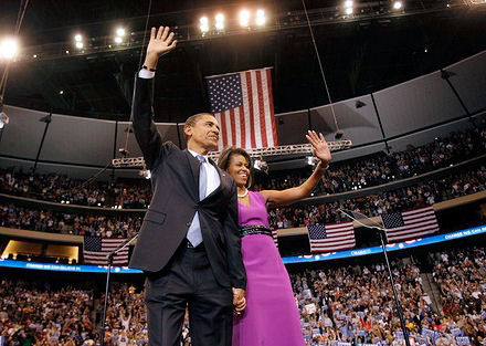 Obama over the top 2