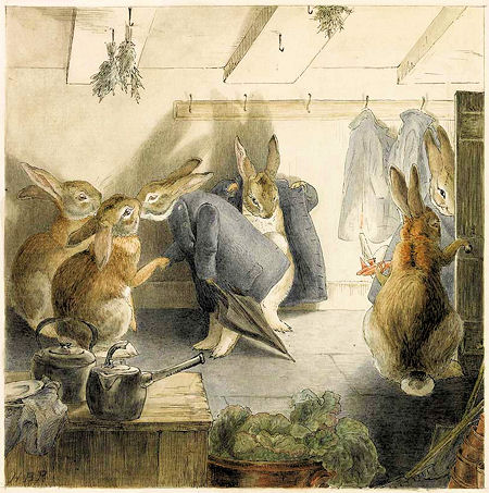 The Rabbits' Christmas Party