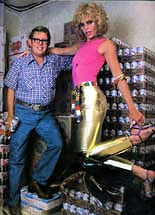 Billy Carter, with Billy Beer
