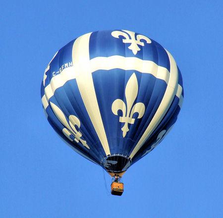 fleur de lis flag balloon