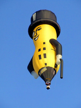 Planters' Mr. Peanut balloon