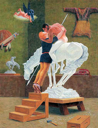 Kent Monkman, Icon for a New Empire
