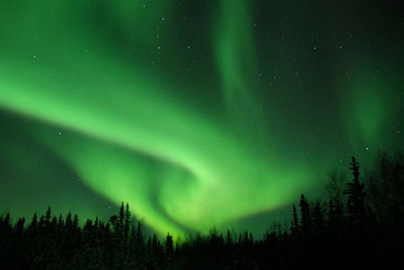northern lights, Yellowknife
