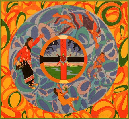 Laurie Houseman-Whitehawk, Circle of Life, 1995