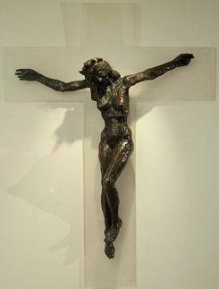 Christa Crucifix