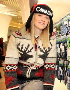 2010 winter Olympics sweater